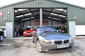 2004 BMW Z4 2.2i PETROL MANUAL SE Roadster RED LEATHER 1 OWNER FROM NEW
