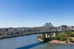 One Bedroom Plus Study With Uninterrupted Views! Brisbane City Brisbane North West Preview