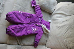 18M Beautiful Gagou Tagou Girls Snow suit - Super Warm!