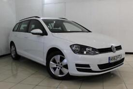 2013 63 VOLKSWAGEN GOLF 1.6 SE TDI BLUEMOTION TECHNOLOGY 5DR 103 BHP DIESEL