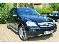 Mercedes-Benz ML280 3.0TD CDI Edition 7G-Tronic S, 87K MILES, MARCH MOT, S/HIST