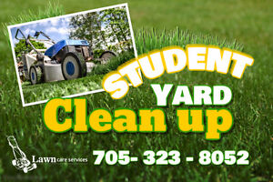 STUDENT Lawn Care Pet Sitting Oro 14 Carthew Bay/Forest Home