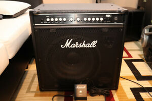 Marshall MB150 Bass amp/cabinet combo. Like new!