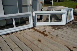 Basement casement windows - never installed