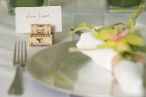 100 wine cork name place lable holders (wedding, dinner, events)