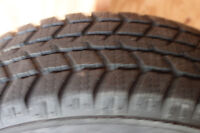 Set of 4 Snow Tires WITH RIMS