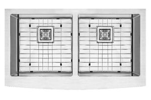 Apron |farm| sink| Free grids|SS 304|Handmade| 16 Gauge
