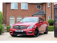 2012 61 MERCEDES-BENZ C CLASS C220 CDI BLUEEFFICIENCY AMG SPORT 2.1 2D AUTO C63