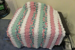Handmade Crocheted Throw