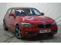 2012 BMW 1 Series 118D SPORT Diesel red Manual