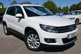 2013 Volkswagen Tiguan 2.0 TDi BlueMotion Tech Match 5dr [2WD] 5 door Four Wh...