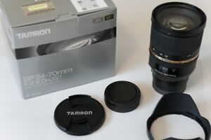 Tamron 24-70mm F/2.8 Zoom Lens - Sony Full-frame A-mount