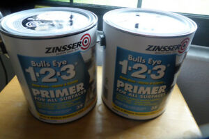 2 cans Bulls-eye  primer/sealer - new unopened