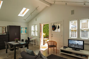 **AVAILABLE NOW** Fully Furnished Main St. Detached Garden Suite