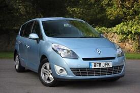 2011 RENAULT SCENIC GRAND DYNAMIQUE TOMTOM ENERGY DCI S/S DIESEL