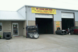 WE SELL GOOD  USED AND NEW TIRES & MAJOR AND MINOR AUTO REPAIRS