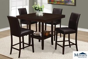 Brand Pub Height Dinette Set! Call 506-634-1010!
