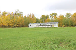 7 Acres with Home near Athabasca, Hwy 2 South