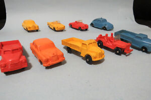Collection of Tomte Laerdal vinyl vehicles for sale. $5 each OBO