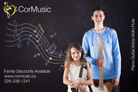 Worry Free Music Lessons from a Qualified Professional Teacher!
