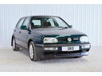 VW VOLKSWAGEN GOLF GTI MK3 2.0 8V 5DR DRAGON GREEN LOW MILEAGE
