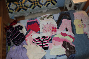 baby girl lot (12-18 months)