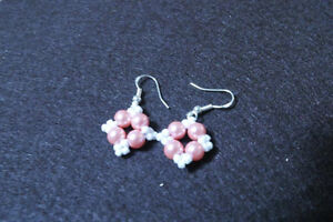 Earrings - (Glass Bead Handmade) St. John's Newfoundland image 1