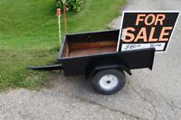 Large Tilting Riding Lawnmower Trailer $60