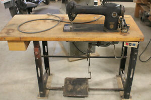 Vintage Industrial Sewing machine Strathcona County Edmonton Area image 1