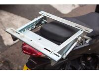 Honda PCX tilting rear carrier / rack. Hippoboxs also available.