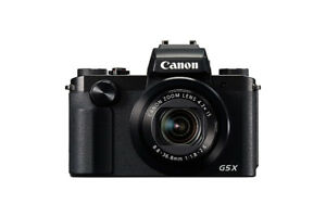 Canon G5X (Compact Expert 24-100mm - f 1.8 2.8)