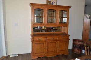 Buffet and Hutch For Sale Prince George British Columbia image 1