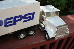 1980's PEPSI Pressed Steel Transport Truck (VIEW OTHER ADS) Kitchener / Waterloo Kitchener Area image 8
