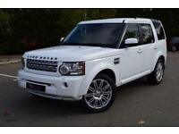 2010 60 LAND ROVER DISCOVERY 3.0 4 TDV6 HSE 5D AUTO 245 BHP DIESEL