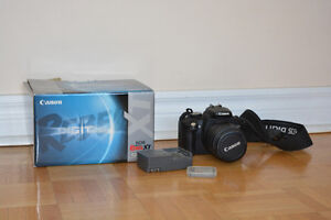 Canon Rebel XT with 55MM Lens and 512MB CompactFlash