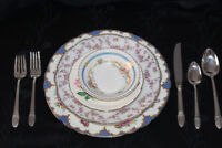 VINTAGE DISHES FOR WEDDINGS - MIXED PATTERNS - CHEAP!