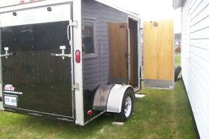 2013 Cargo Mate enclosed trailer, 10.5 ft. x 6 ft single axle