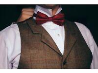 20s (Gatsby) style Tweed Vintage Groom Suit from Walker Slater