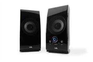 Haut parleurs amplifiés de 5W Cyber Acoustics (CA-2022)