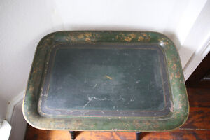 ANTIQUE SERVING TRAY/ LUGGAGE RACK