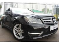 2013 13 MERCEDES-BENZ C-CLASS 2.1 C220 CDI BLUEEFFICIENCY AMG SPORT 4D 168 BHP D