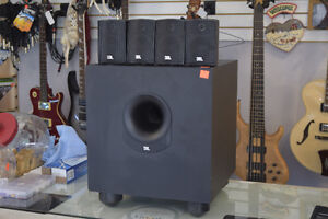 **EXCELLENT CONDITION** JBL Sub135 + 4 JBL Satellite Speakers