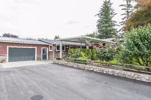 House with acreage in Chilliwack