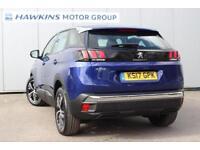 2017 Peugeot 3008 SUV 1.6 BHDI Active 100 Manual Hatchback