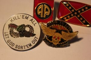 Vietnam, Harley Davidson, Rebel  Lapel PINS(VIEW OTHER ADS)