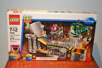 Ensemble Lego TOY STORY 3 Trash compactor escape no 7596