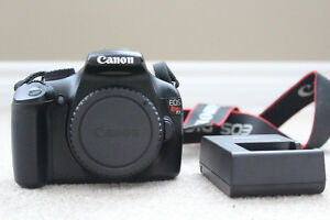 Canon EOS Rebel T3 / EOS 1100D 12.2MP Digital SLR Camera - Body