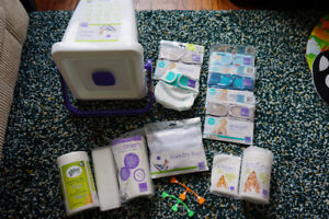 Bambino Mio cloth diapering BIG NEW set diapers