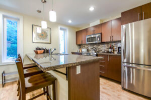 Fully furnished 1bed, 1.5-bath, 2-level suite with patio.