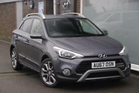 2017 Hyundai i20 1.0 T-GDi Active (ISG) (100ps) Petrol grey Manual